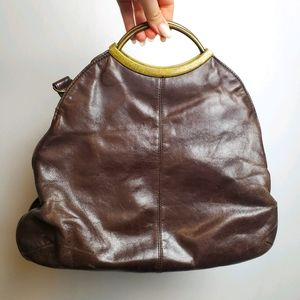 Hobo Leather Handbag